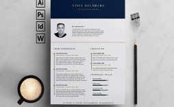 009 Dreaded Resume Template Free Word Picture  Download Cv 2020 Format