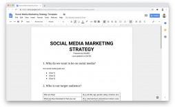 009 Dreaded Social Media Plan Template Sample  Pdf Marketing Powerpoint