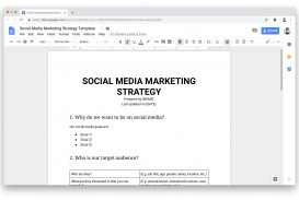 009 Dreaded Social Media Plan Template Sample  Doc Download Marketing Excel