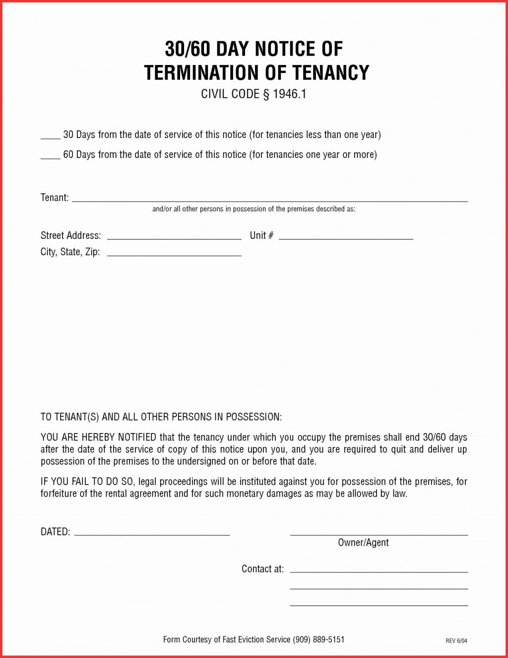 009 Excellent 30 Day Eviction Notice Template High Resolution  Pdf FormLarge