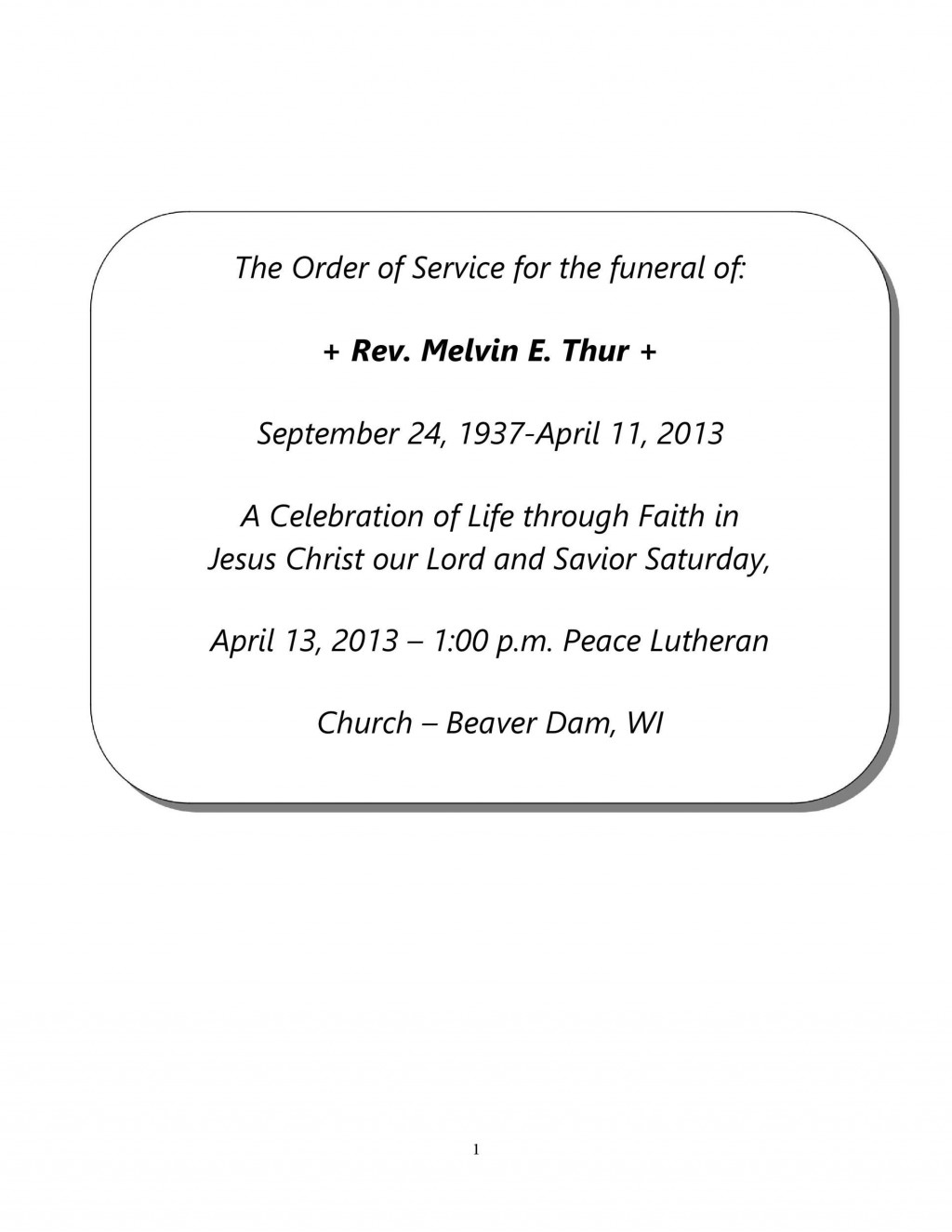009 Excellent Celebration Of Life Template Free Download Concept  InvitationLarge