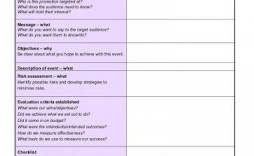 009 Excellent Free Event Planning Template Checklist Image  Planner