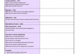 009 Excellent Free Event Planning Template Checklist Image  Planner Party
