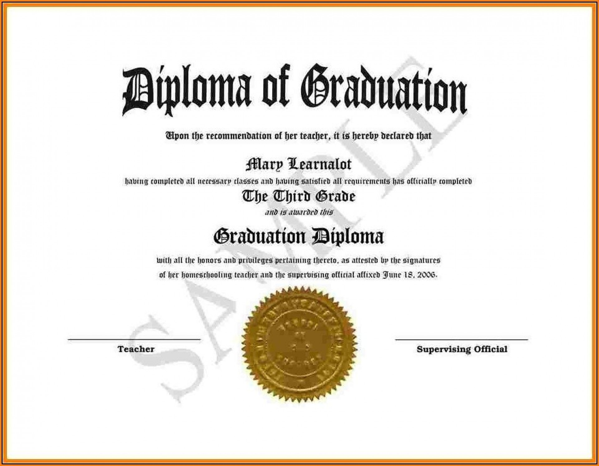 Diploma Template Download from www.addictionary.org