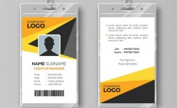 009 Excellent Free Id Badge Template High Def  Templates Card Ai Uk Illustrator