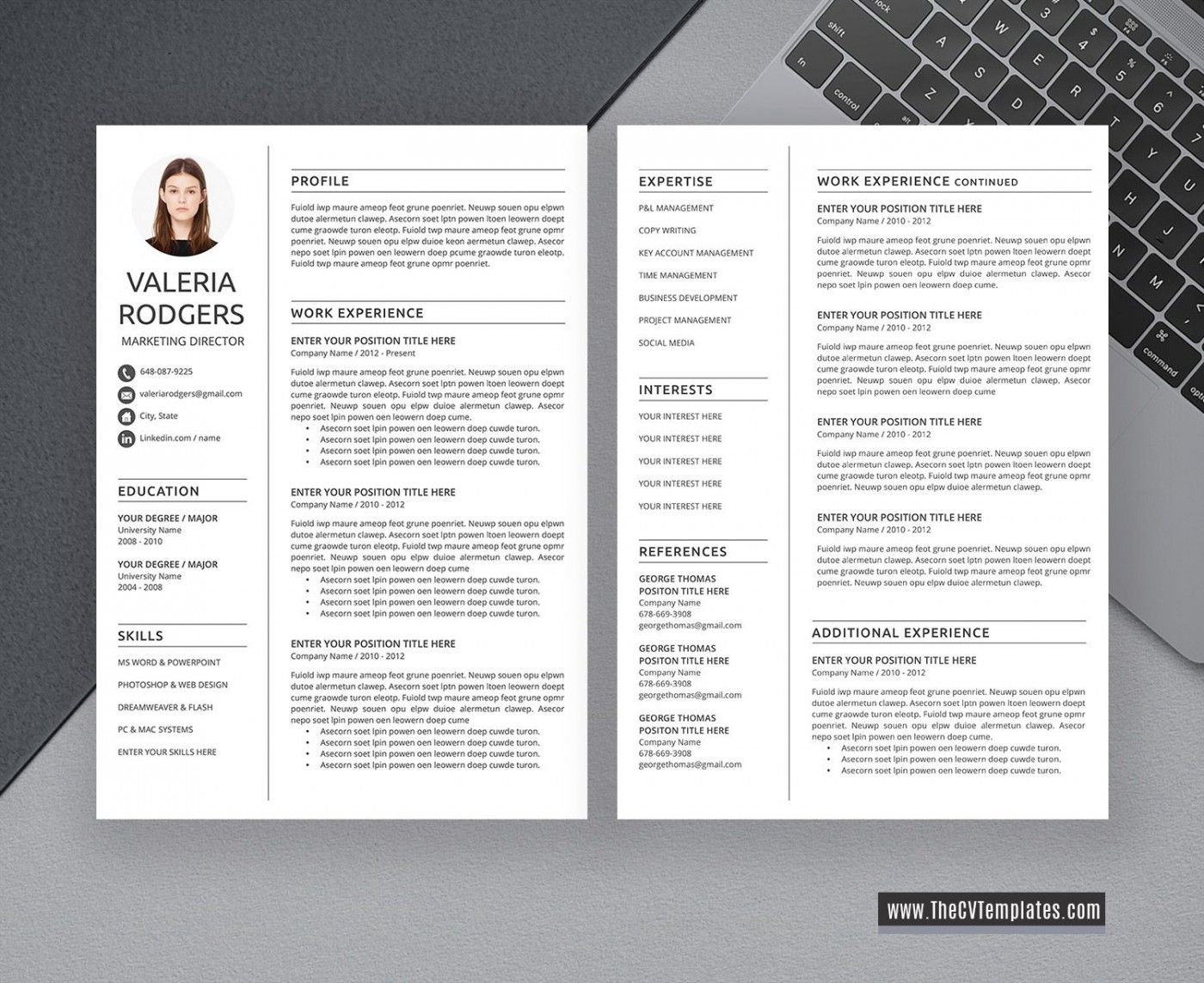 009 Excellent Free Printable Creative Resume Template Microsoft Word Inspiration 1400