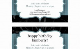 009 Excellent Microsoft Office Invitation Template Example  Templates Holiday Party Publisher