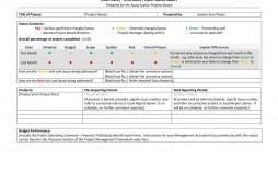 009 Excellent Project Management Monthly Progres Report Template Idea