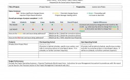 009 Excellent Project Management Progres Report Template Sample  Statu Ppt Weekly