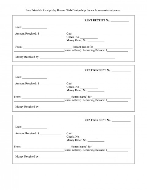 009 Excellent Rent Receipt Template Docx Picture  Format India Word Document Download Doc480