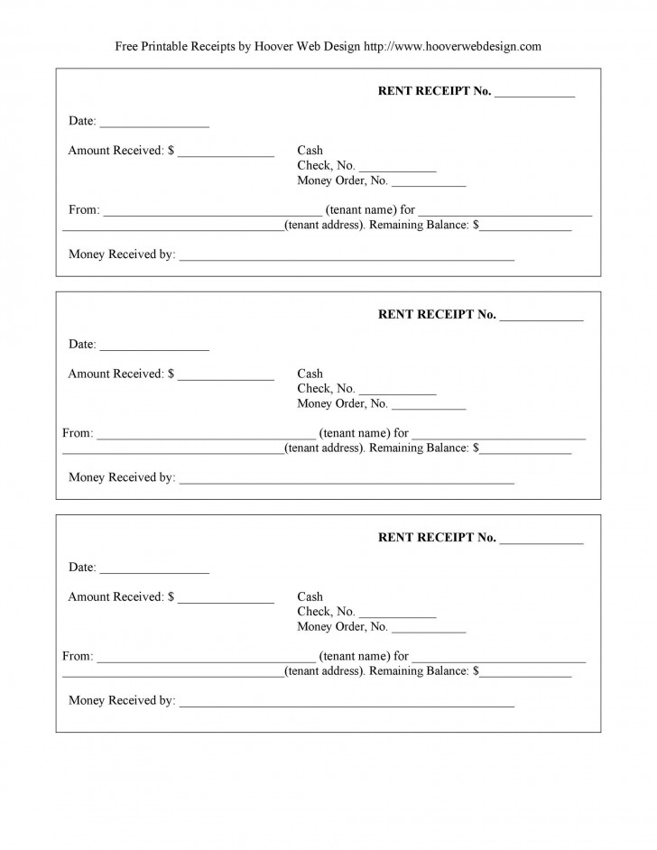 009 Excellent Rent Receipt Template Docx Picture  Format India Word Document Download Doc728