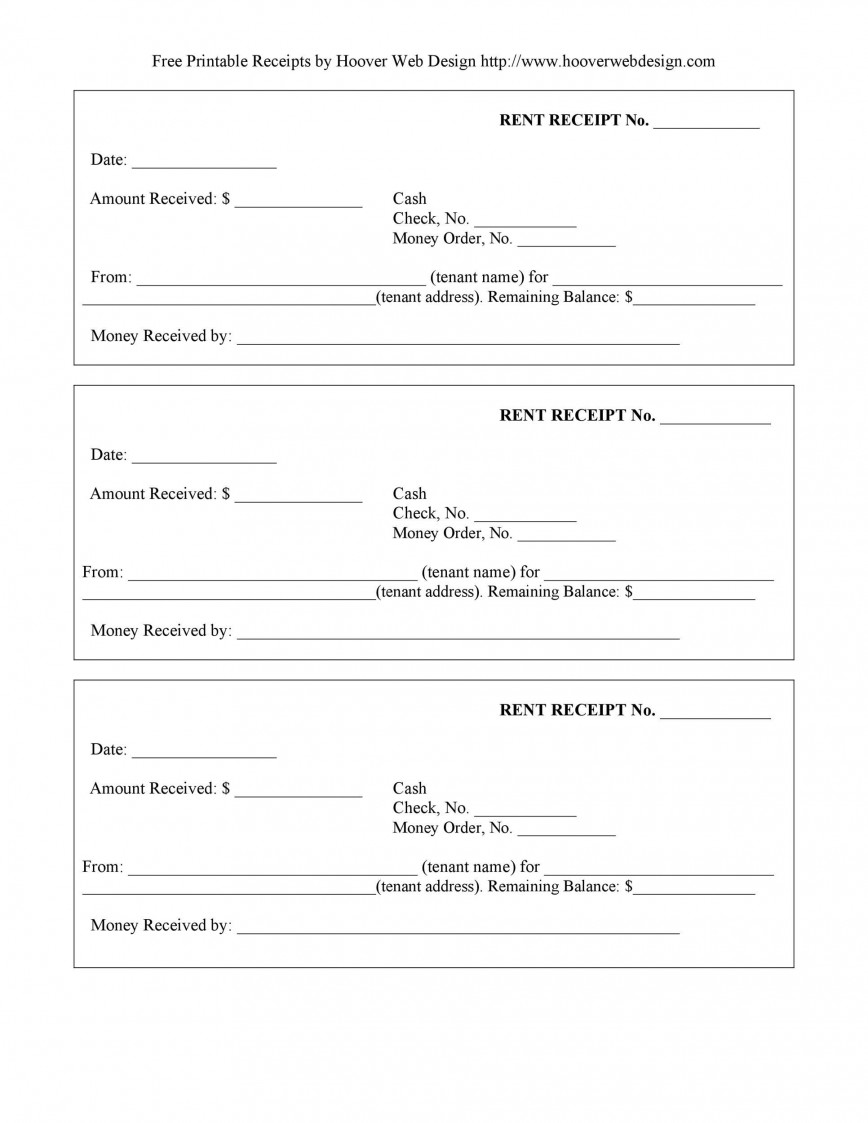 009 Excellent Rent Receipt Template Docx Picture  Format India Word Document Download Doc868