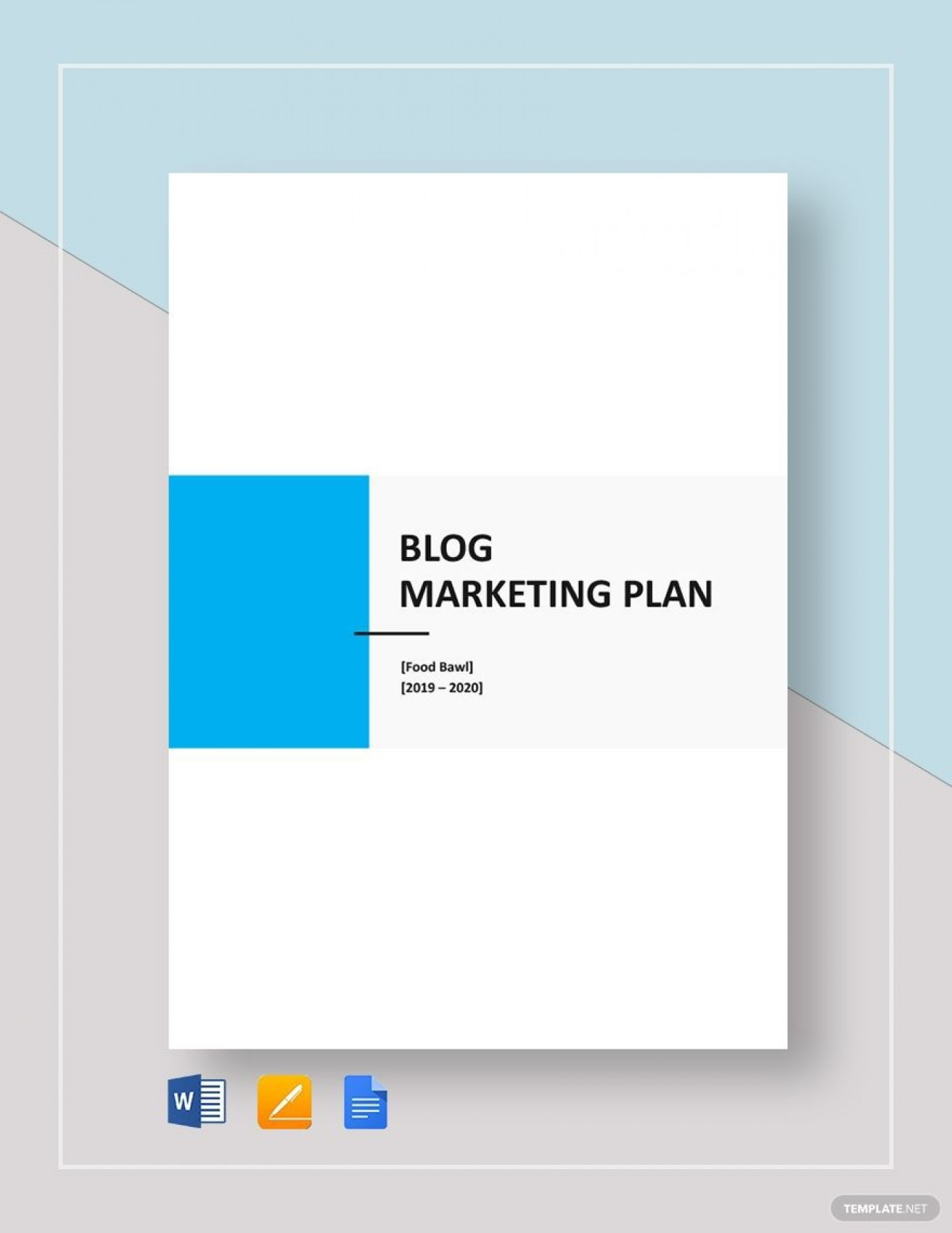009 Excellent Social Media Marketing Plan Template Doc Idea 1400
