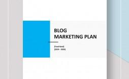 009 Excellent Social Media Marketing Plan Template Doc Idea