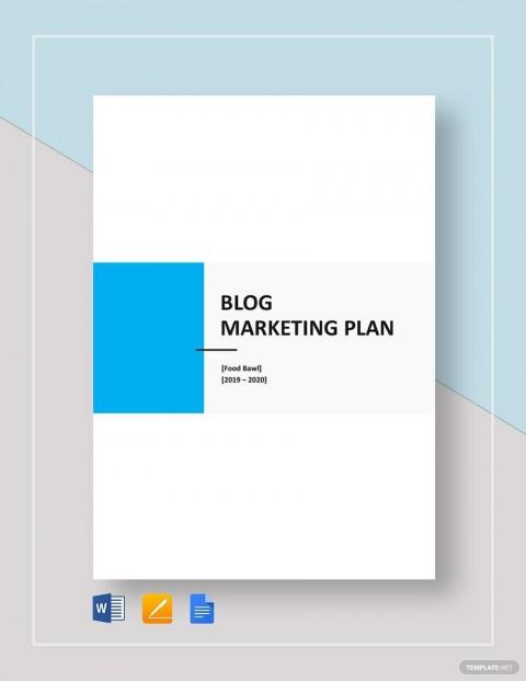 009 Excellent Social Media Marketing Plan Template Doc Idea 480