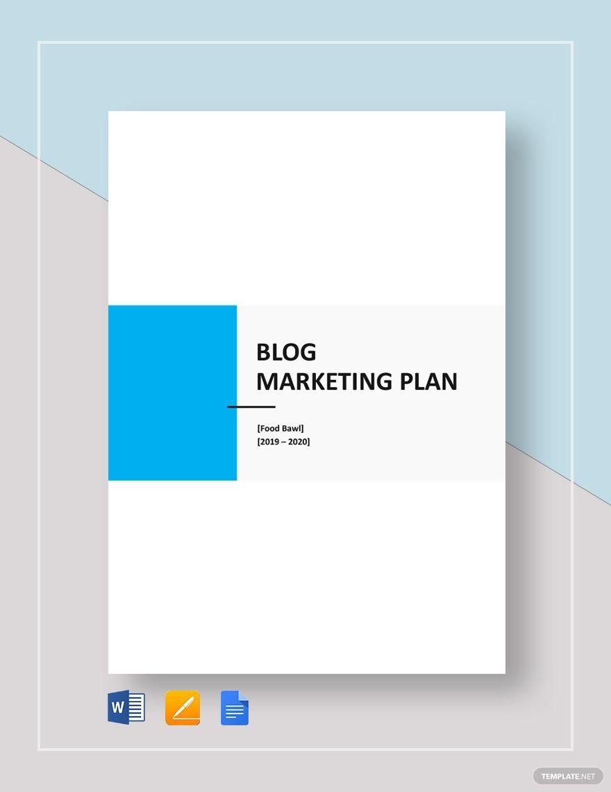 009 Excellent Social Media Marketing Plan Template Doc Idea Full