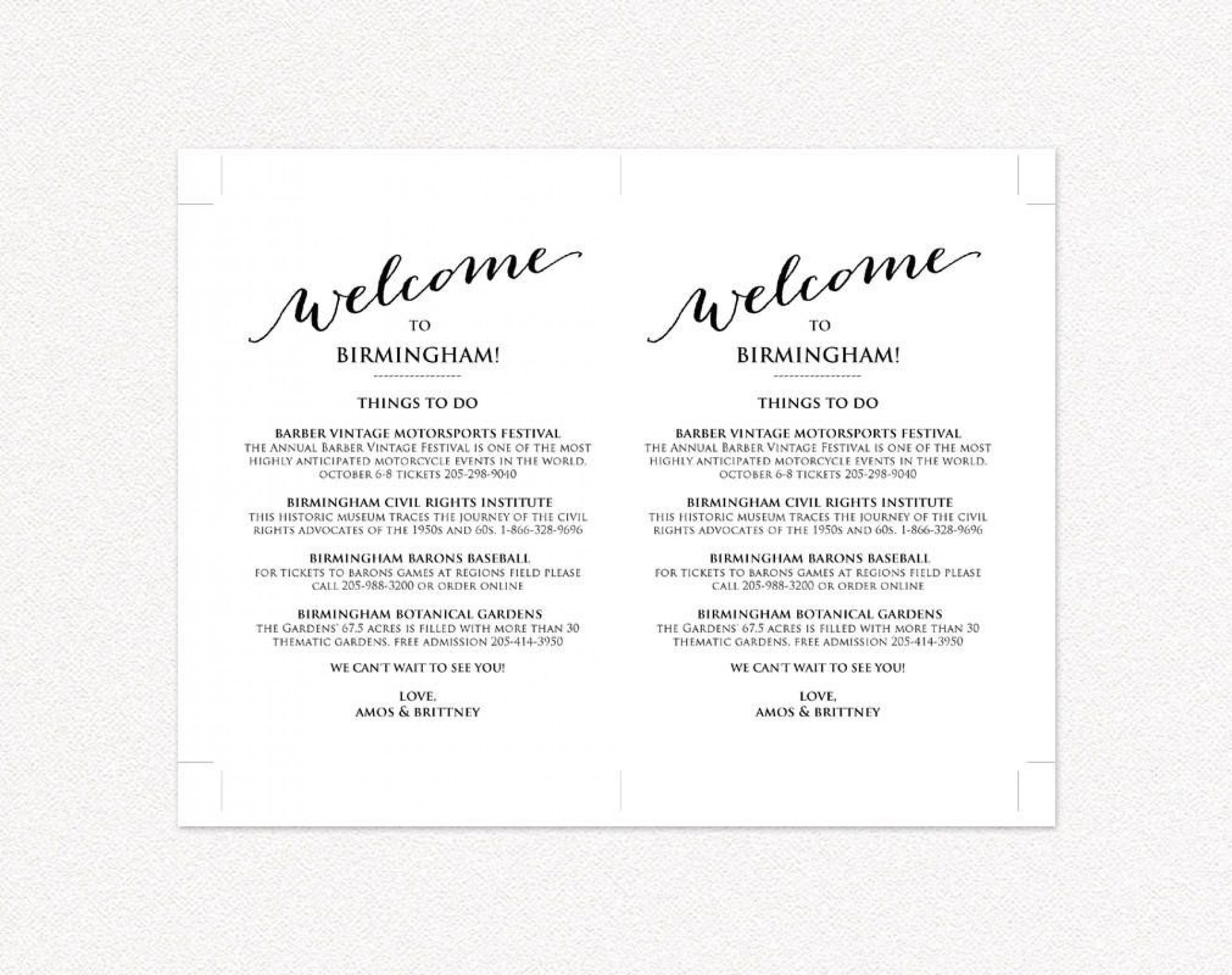 009 Excellent Wedding Weekend Itinerary Template Highest Clarity  Day Word Reception Timeline Excel1920