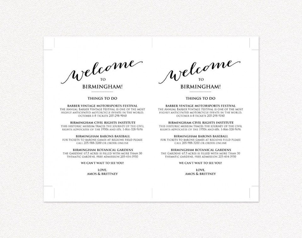 009 Excellent Wedding Weekend Itinerary Template Highest Clarity  Day Timeline Word Sample960