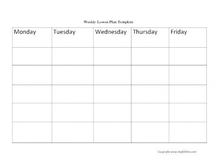 009 Excellent Weekly Lesson Plan Template Idea  Blank Free High School Danielson Google Doc728