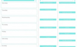 009 Excellent Weekly Meal Plan Template App Inspiration  Apple Page