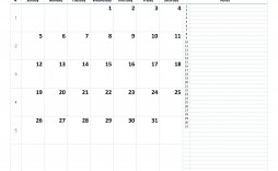 009 Excellent Word 2020 Monthly Calendar Template Sample  Uk Free