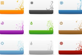 009 Exceptional Blank Busines Card Template Photoshop Example  Free Download Psd