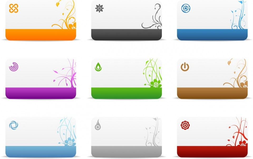 009 Exceptional Blank Busines Card Template Photoshop Example  Free Download Psd960