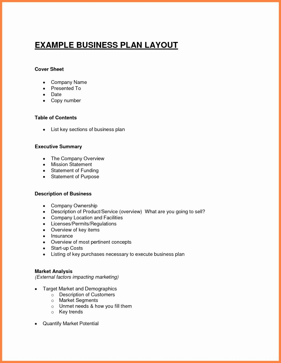 009 Exceptional Busines Plan Template Pdf Highest Quality  Restaurant Sample Free Example Uk DocFull