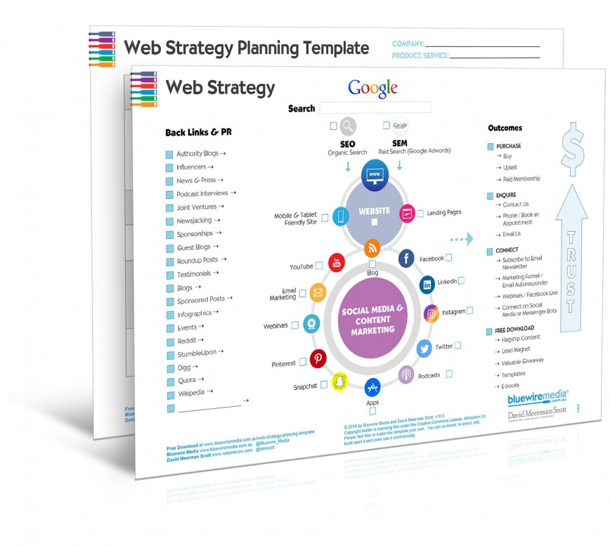 009 Exceptional Digital Marketing Strategy Template Picture  2019 Campaign Free Download