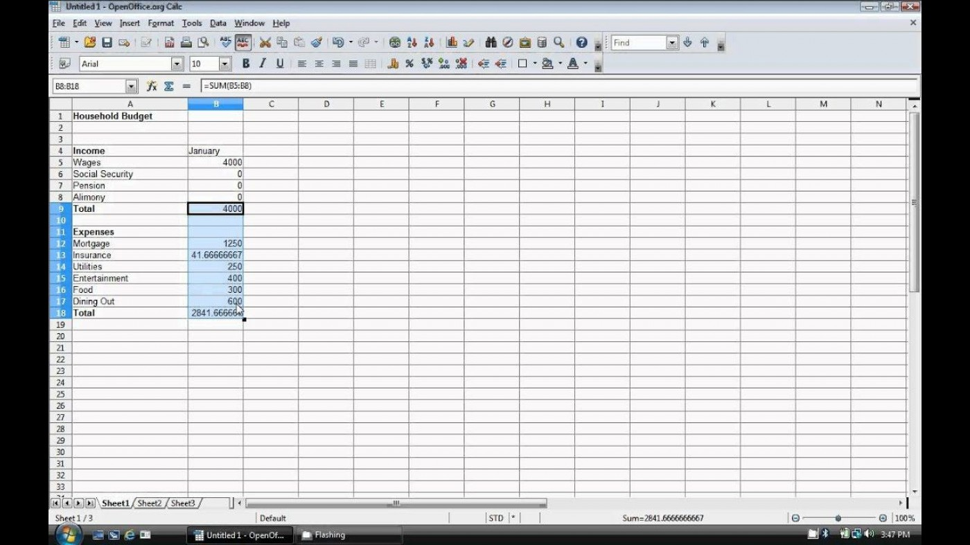 009 Exceptional Event Budget Template Excel Concept  Download 2010 Planner1400