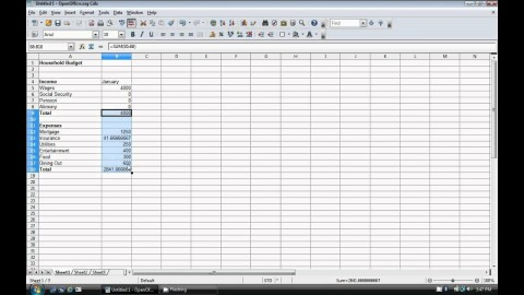 009 Exceptional Event Budget Template Excel Concept  Download 2010 Planner480