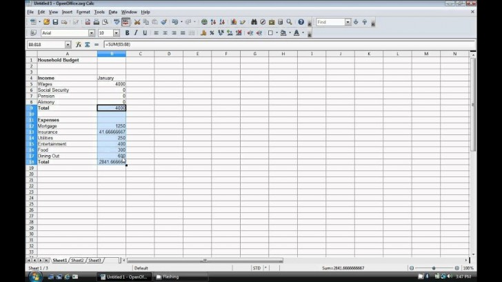 009 Exceptional Event Budget Template Excel Concept  Download 2010 Planner728