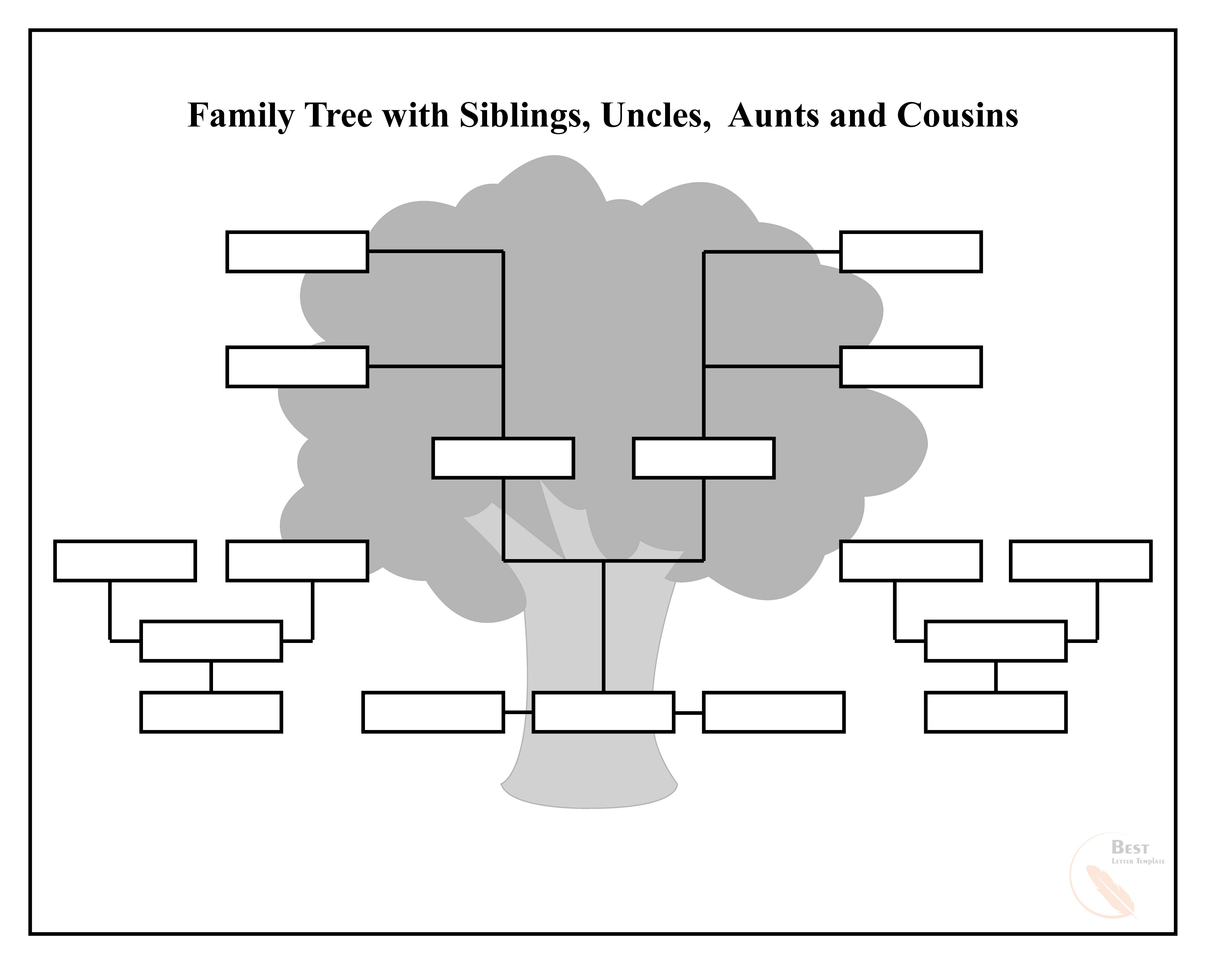 009 Exceptional Family Tree Template Google Doc Highest Quality  Docs I There A On Free EditableFull