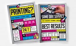009 Exceptional Free Print Ad Template Concept  Templates Real Estate For Word