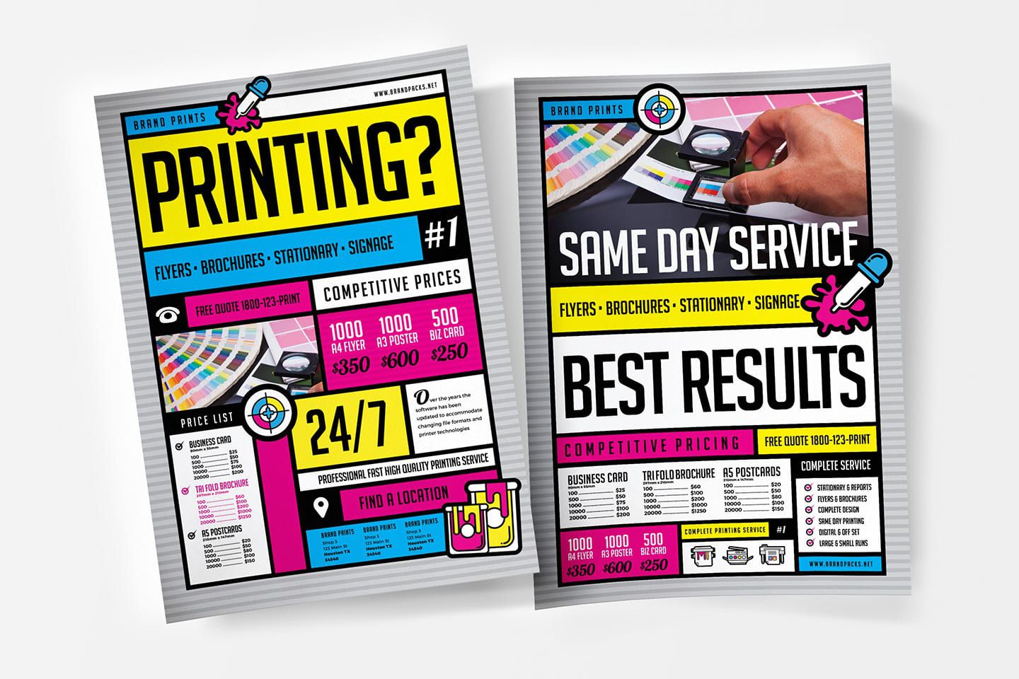009 Exceptional Free Print Ad Template Concept  Templates Real Estate For WordFull