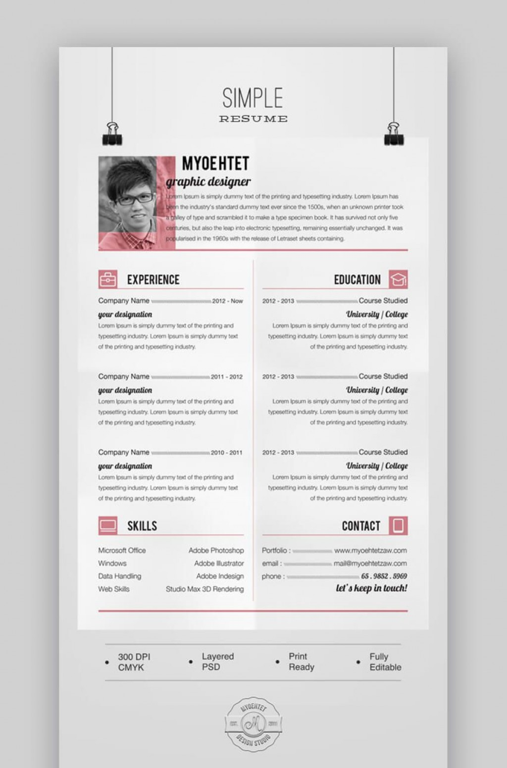 009 Exceptional Free Printable Resume Template 2019 Design Large