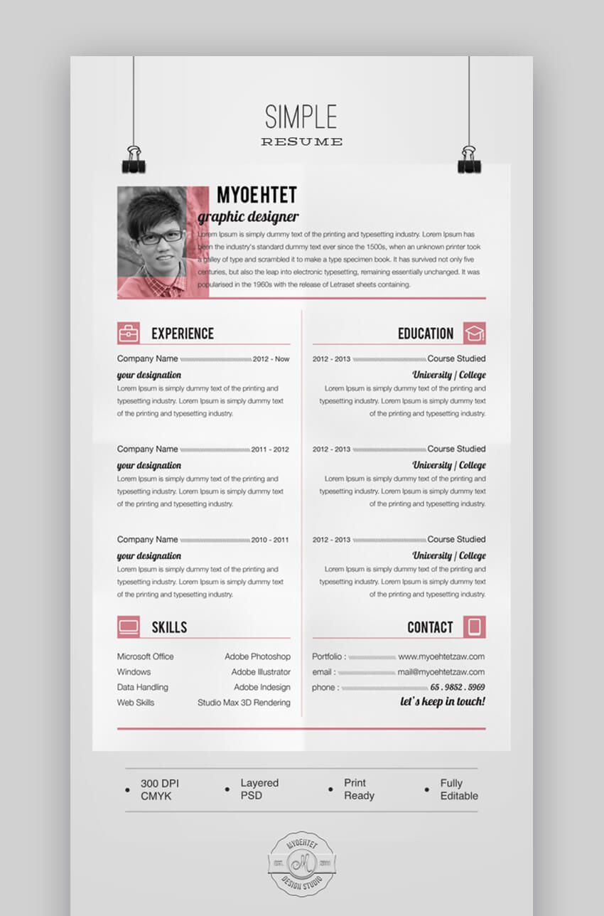 009 Exceptional Free Printable Resume Template 2019 Design Full