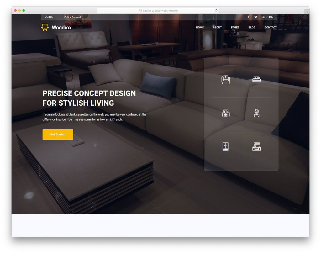 009 Exceptional Interior Design Html Template Free Download Highest Clarity Large