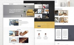 009 Exceptional Interior Design Portfolio Template High Def  Ppt Free Download Layout