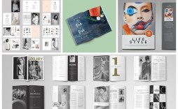 009 Exceptional Magazine Layout Template Free Download Word Picture
