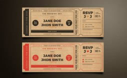 009 Exceptional Movie Ticket Invitation Template Design  Blank Free Download Editable Printable