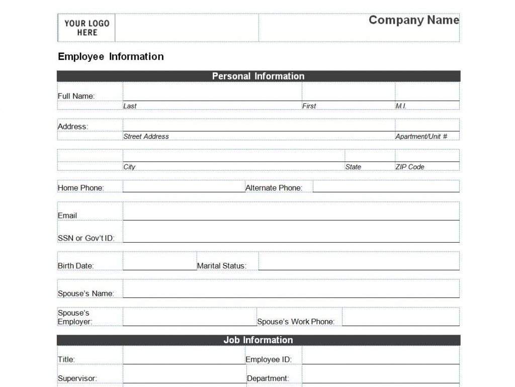 009 Exceptional New Busines Client Information Form Template Photo Large