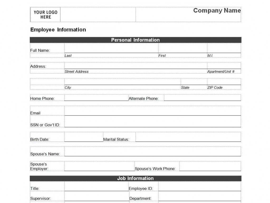 009 Exceptional New Busines Client Information Form Template Photo Full