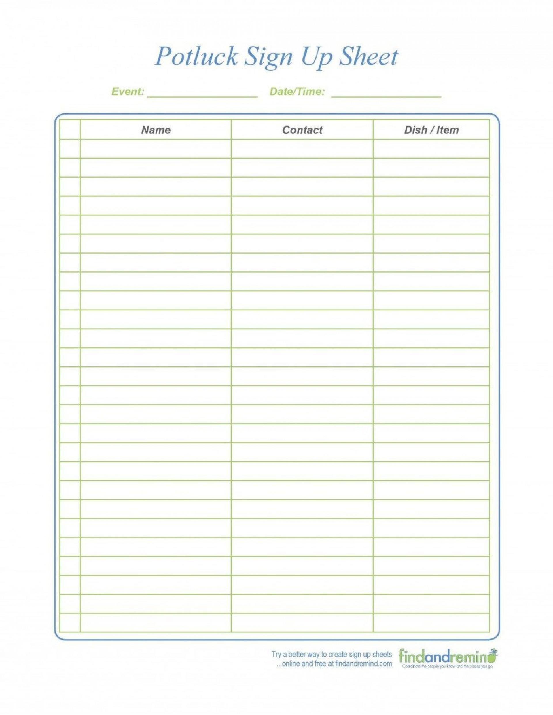 009 Exceptional Pdf Sign Up Sheet Template High Def  Templates1920