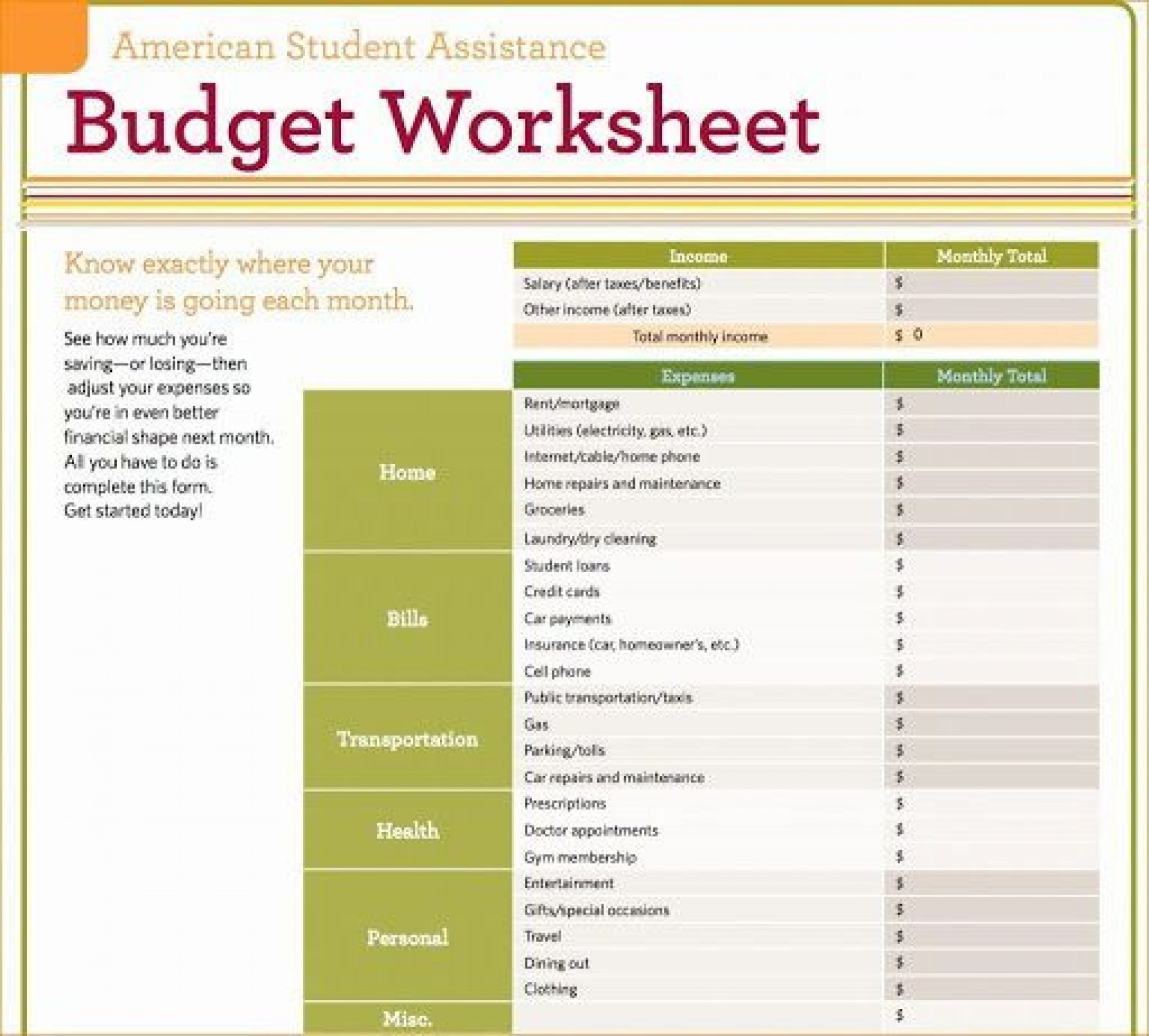 009 Exceptional Personal Budget Spreadsheet Template For Mac Image 1920