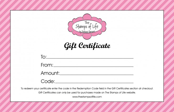 009 Exceptional Salon Gift Certificate Template High Resolution 728