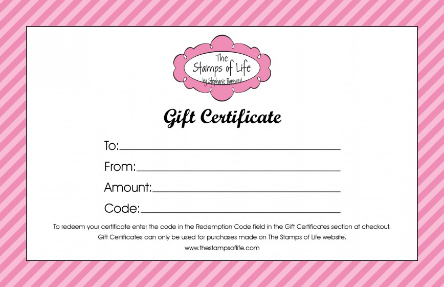 009 Exceptional Salon Gift Certificate Template High Resolution 868