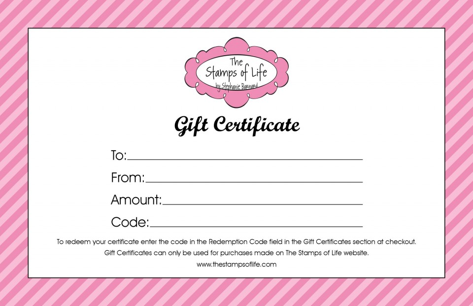 009 Exceptional Salon Gift Certificate Template High Resolution 960
