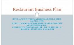 009 Exceptional Small Restaurant Busines Plan Ppt Presentation Idea  Powerpoint