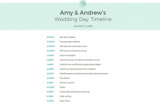 009 Exceptional Wedding Day Schedule Template Example  Excel Editable Timeline Free Word320